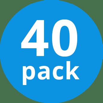Voordeelpak 40x Philips MASTER TL5 HE 28W/830