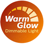 Philips LEDbulb E27 A60 6W 827 Clear (MASTER) | DimTone Dimmable - Replaces 40W