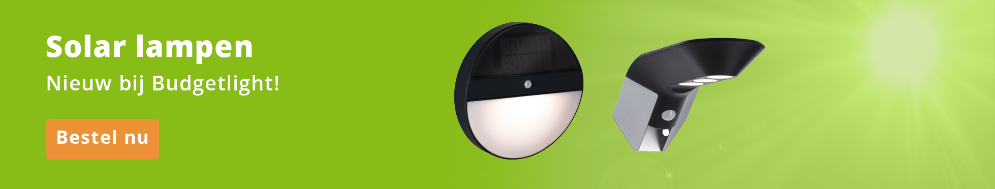 Budgetlight Solar Lampen