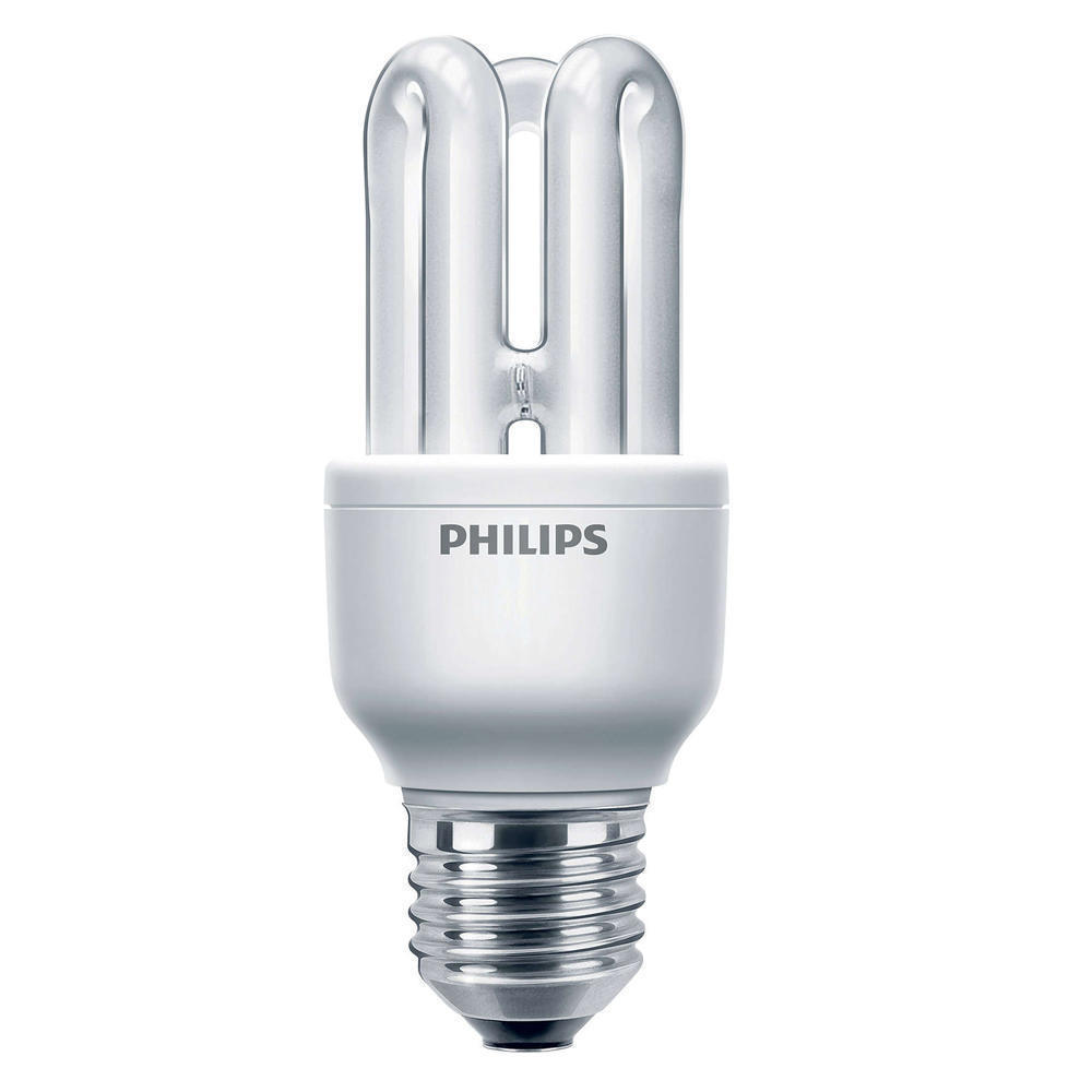 Philips Genie ESaver 8W 827 E27 | Zeer Warm Wit
