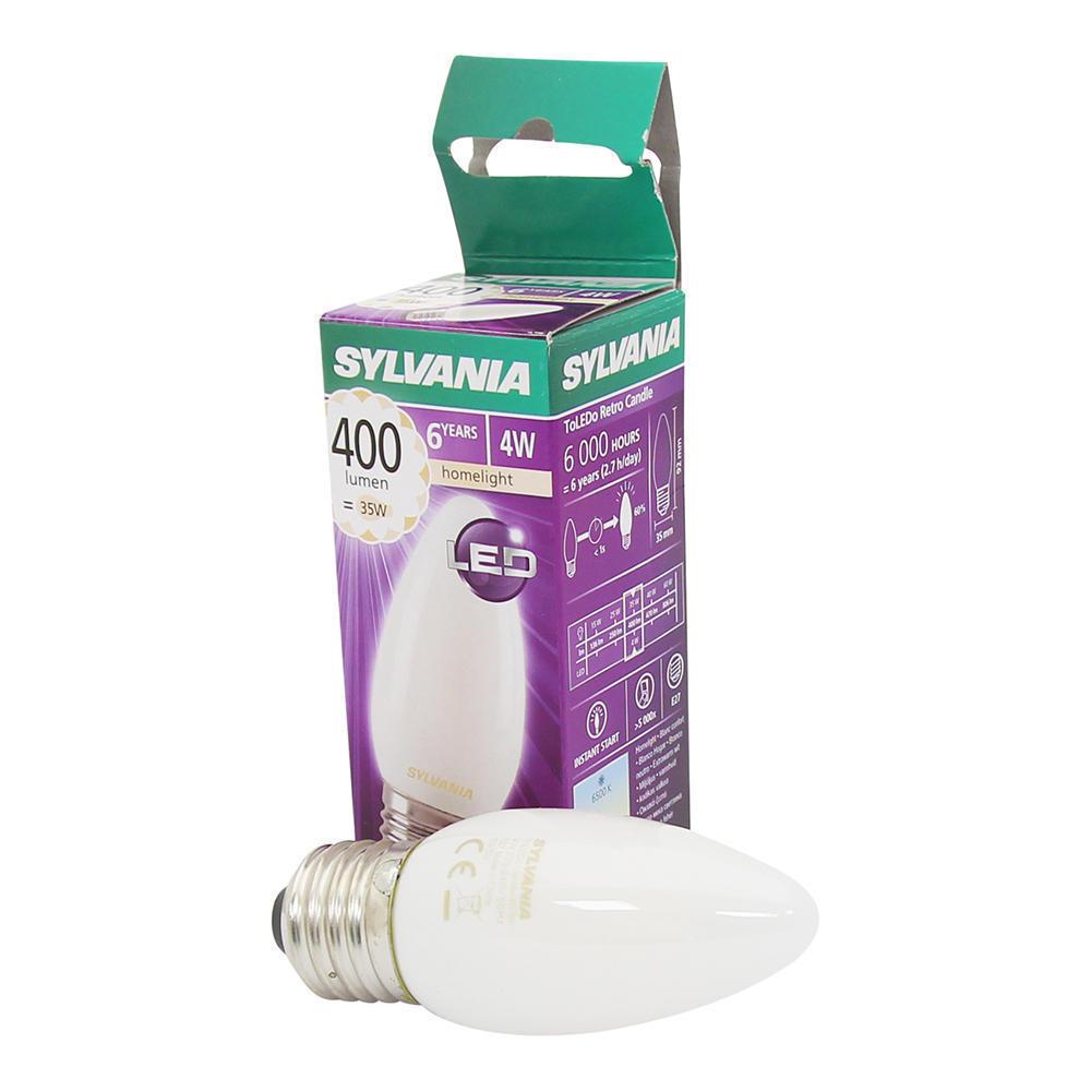 Sylvania ToLEDo RT Candle Mat 4W 400lm E27
