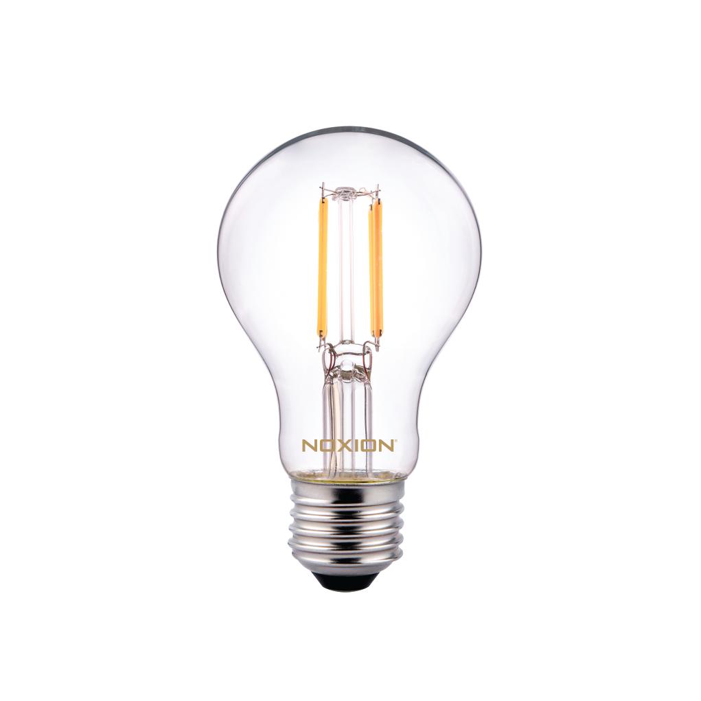 Noxion Lucent Classic LED Filament A60 E27 5W 822-827 Helder | Dimbaar - Zeer Warm Wit - Vervangt 40W