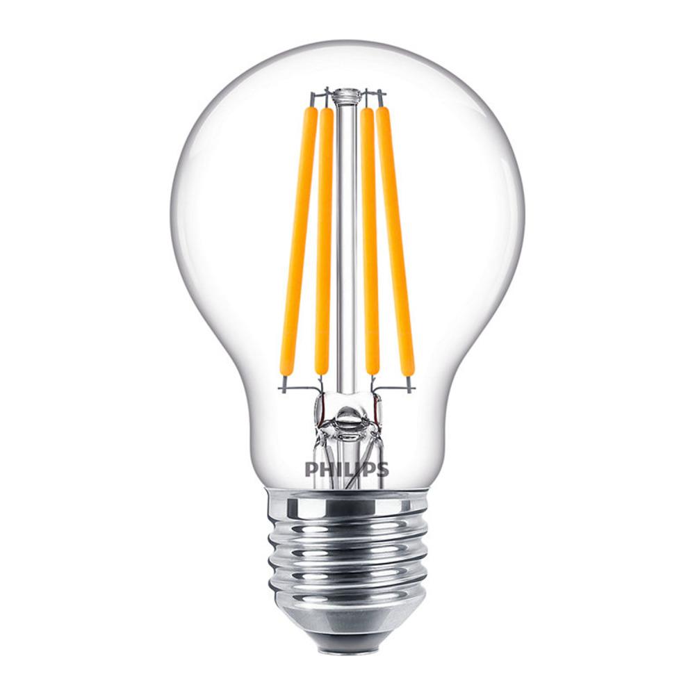 Philips Classic LEDbulb E27 A60 10.5 827 Filament | Zeer Warm Wit - Vervangt 100W