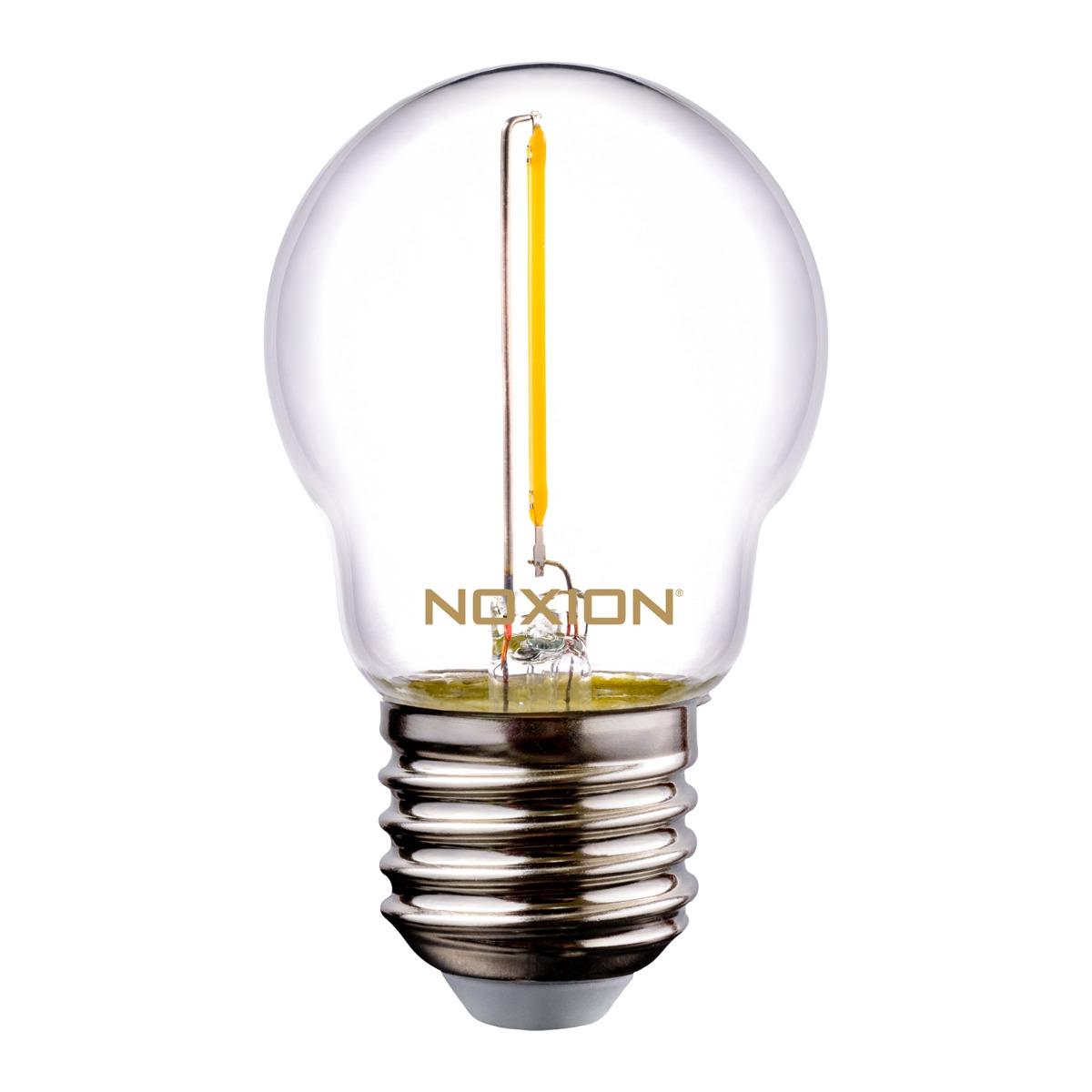 Noxion Lucent Filament LED Lustre P45 E27 220-240V 1.4W 136LM CRI80 2700K ND (15W eqv.)