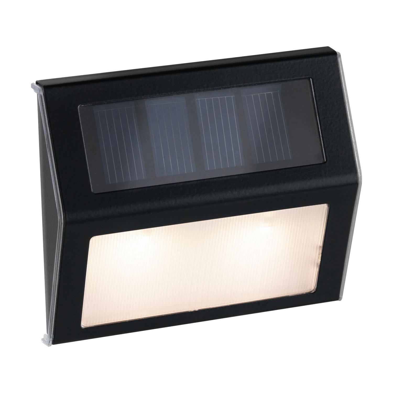 Paulmann Dayton Solar LED Trap Muurlamp Grijs Metaal/Kunststof IP44 3000K