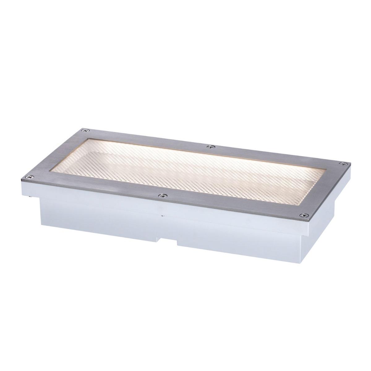 Paulmann Aron Solar LED Grondspot Metaal/Kunststof 200x100mm IP67 3000K | Bewegingssensor