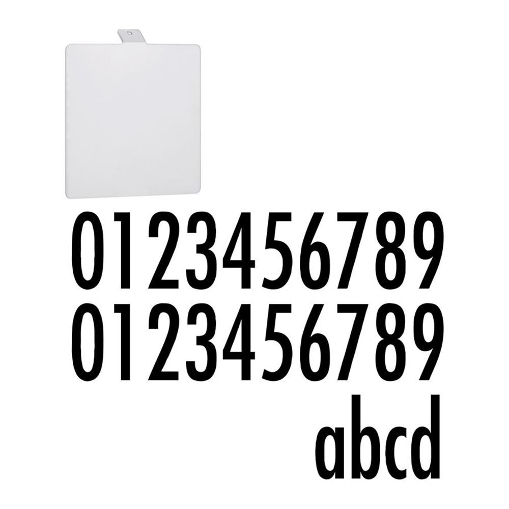 Paulmann Accessoire Huisnummer voor Soley solar LED Muurlamp Metaal Wit