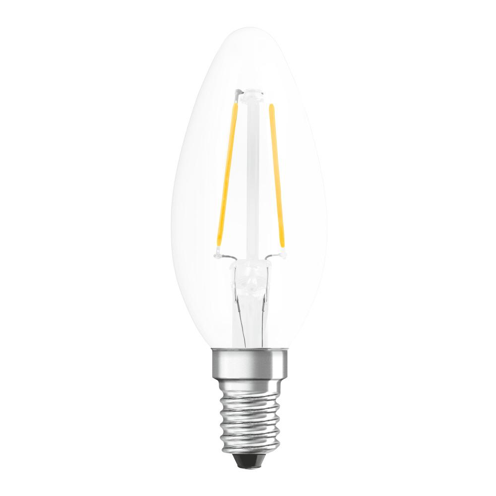 Osram Parathom Retrofit Classic E14 B 2.8W 827 Filament | Zeer Warm Wit - Vervangt 25W