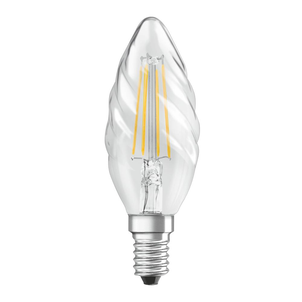 Osram Parathom Retrofit Classic E14 BW 4W 827 Filament | Zeer Warm Wit - Vervangt 40W