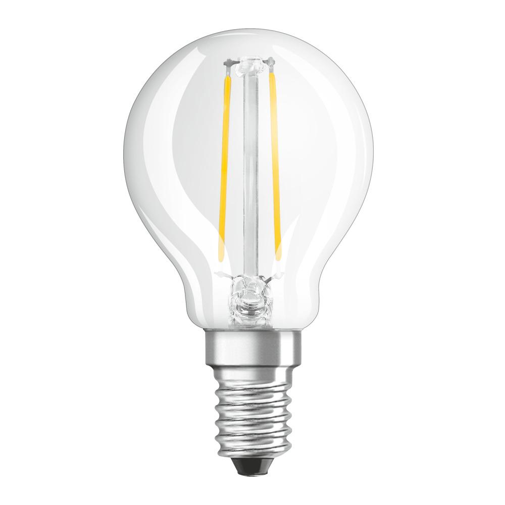 Osram Parathom Retrofit Classic E14 P 2.5W 827 Filament | Zeer Warm Wit - Vervangt 25W