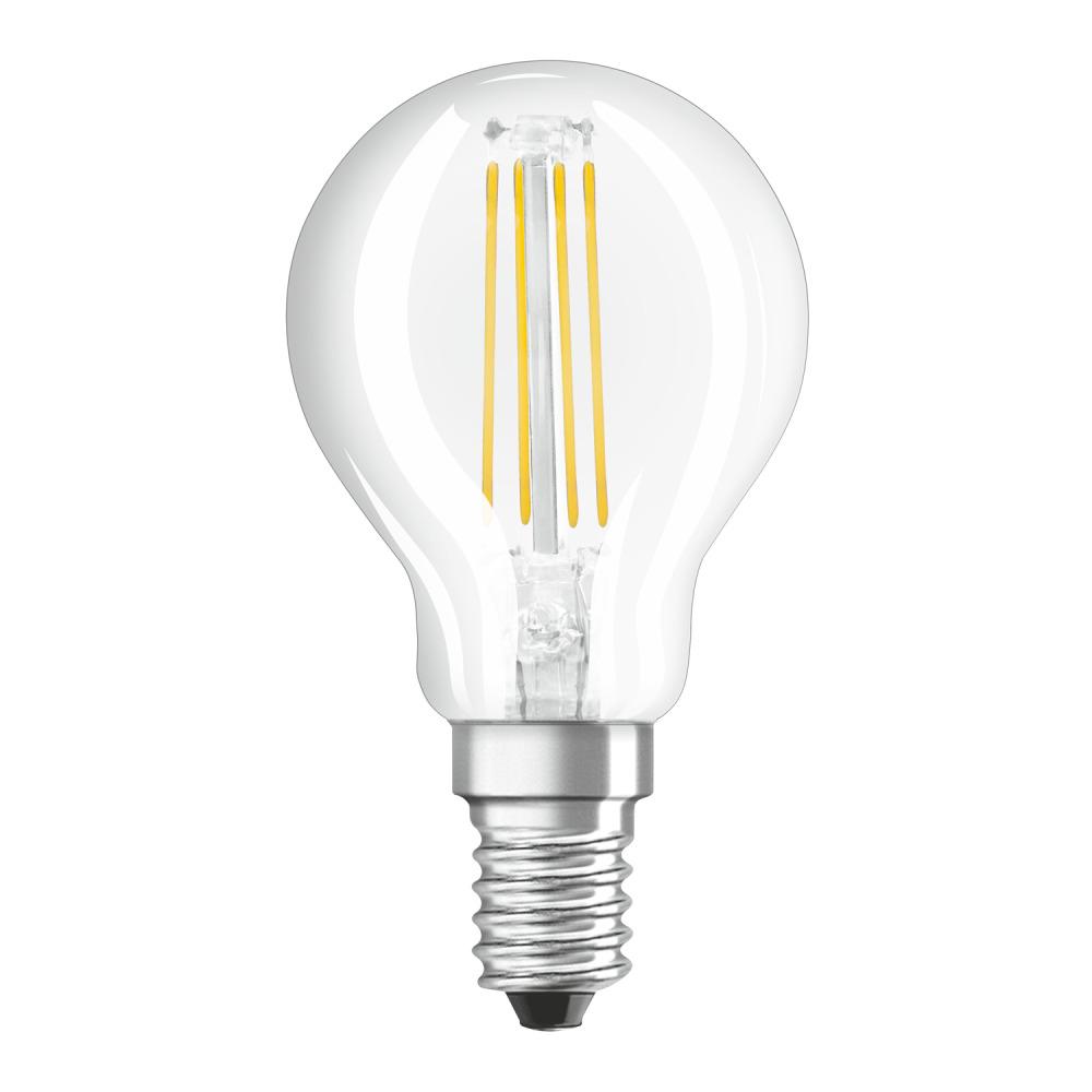 Osram Parathom Retrofit Classic E14 P 4.5W 827 Filament | Dimbaar - Zeer Warm Wit - Vervangt 40W