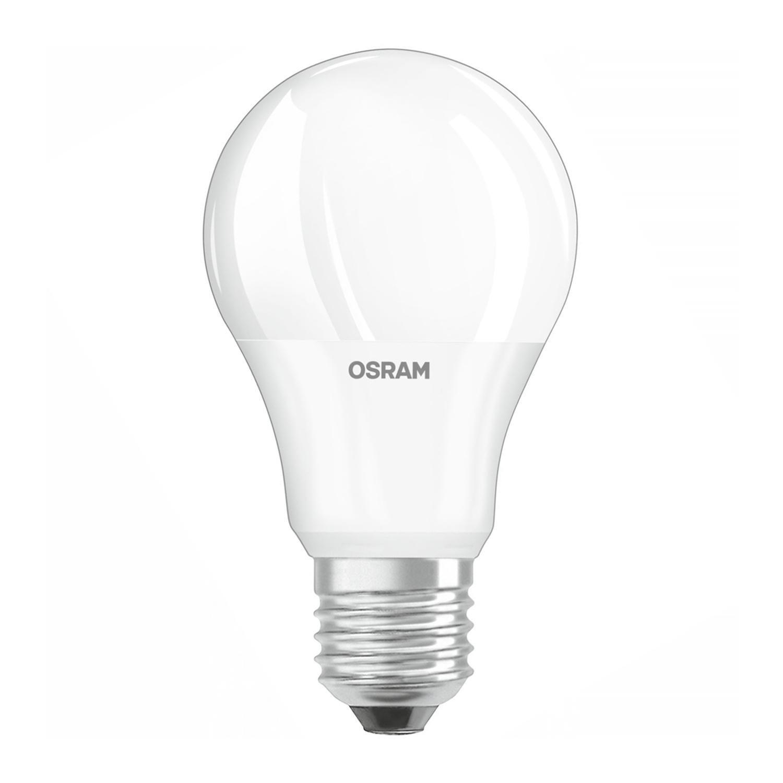 Ledvance LED Parathom Daglicht Sensor Classic E27 A60 9W 827 Mat | Zeer Warm Wit - Vervangt 60W