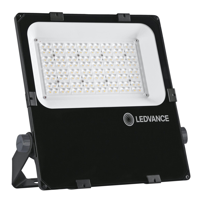 LEDVANCE LED Breedstraler Performance 100W 3000K 11800lm IP66 Zwart | Asymmetrisch