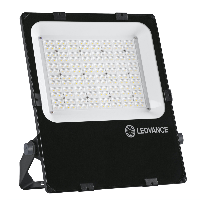 LEDVANCE LED Breedstraler Performance 150W 3000K 18300lm IP66 Zwart | Asymmetrisch