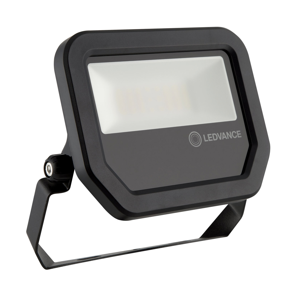 Ledvance LED Breedstraler Performance 20W 6500K 2400lm IP65 Zwart | Daglicht
