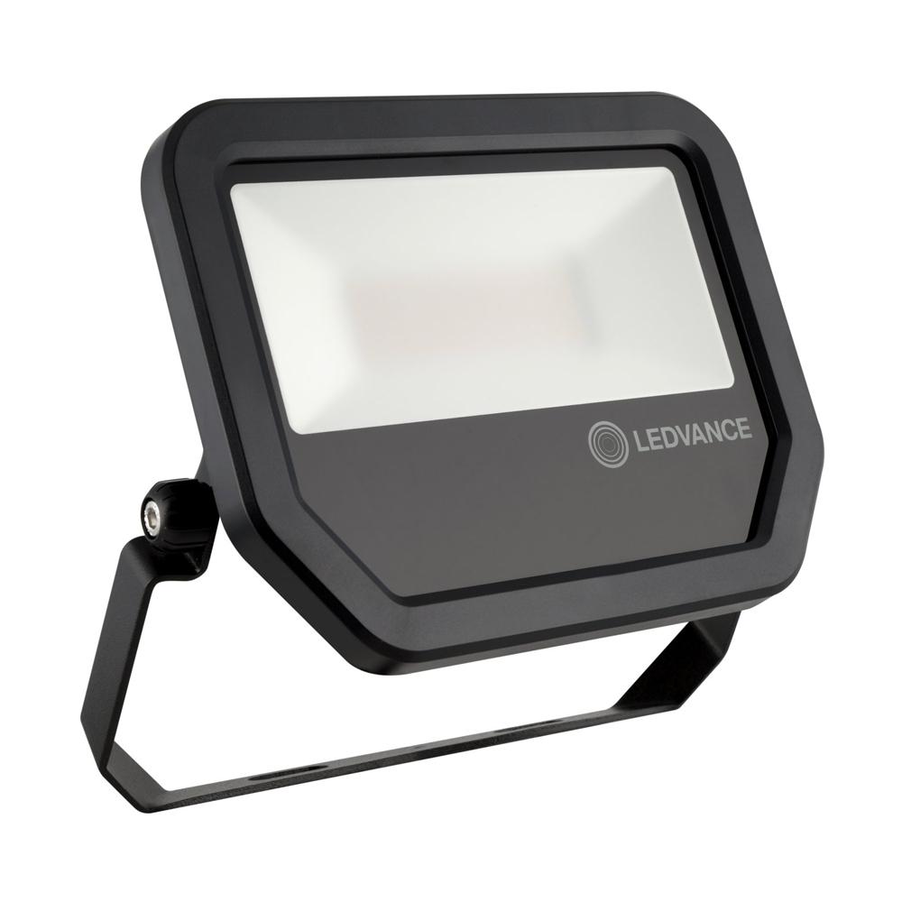 Ledvance LED Breedstraler Performance 30W 3000K 3300lm IP65 Zwart | Warm Wit