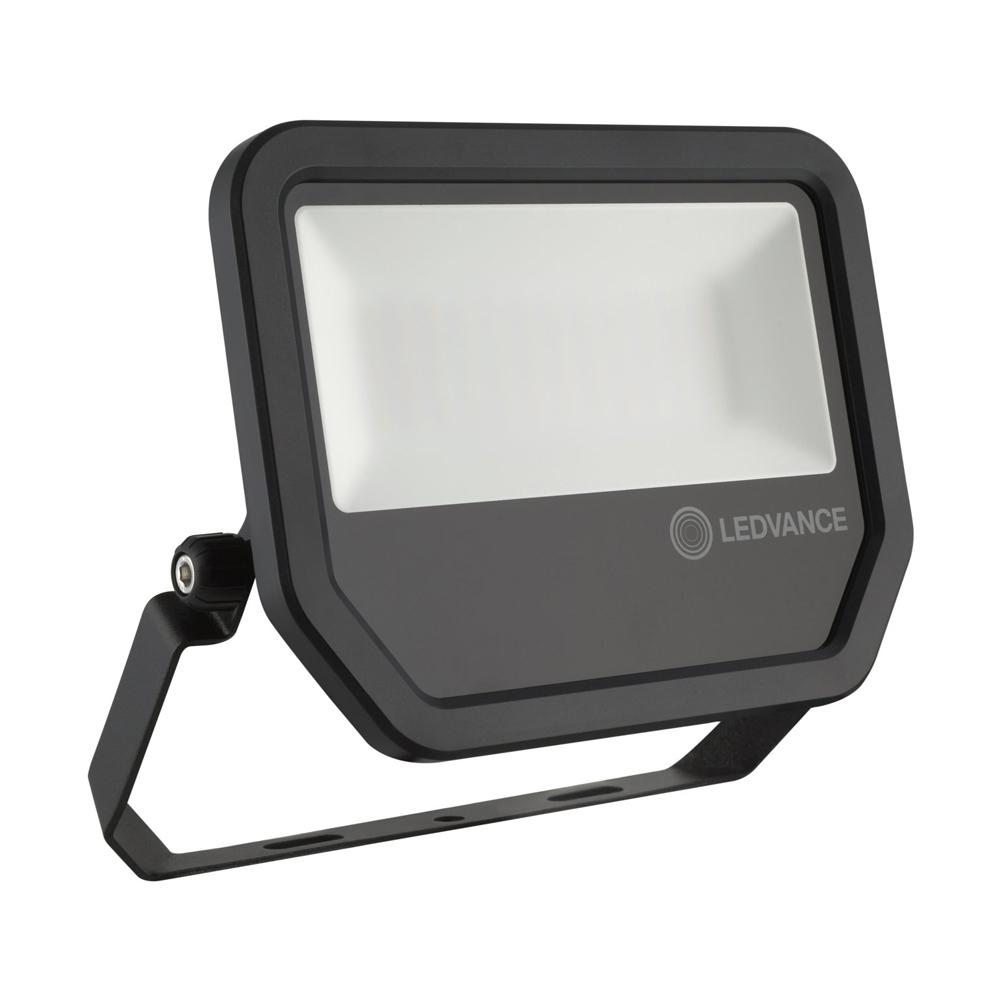 Ledvance LED Breedstraler Performance 50W 3000K 5500lm IP65 Zwart | Warm Wit
