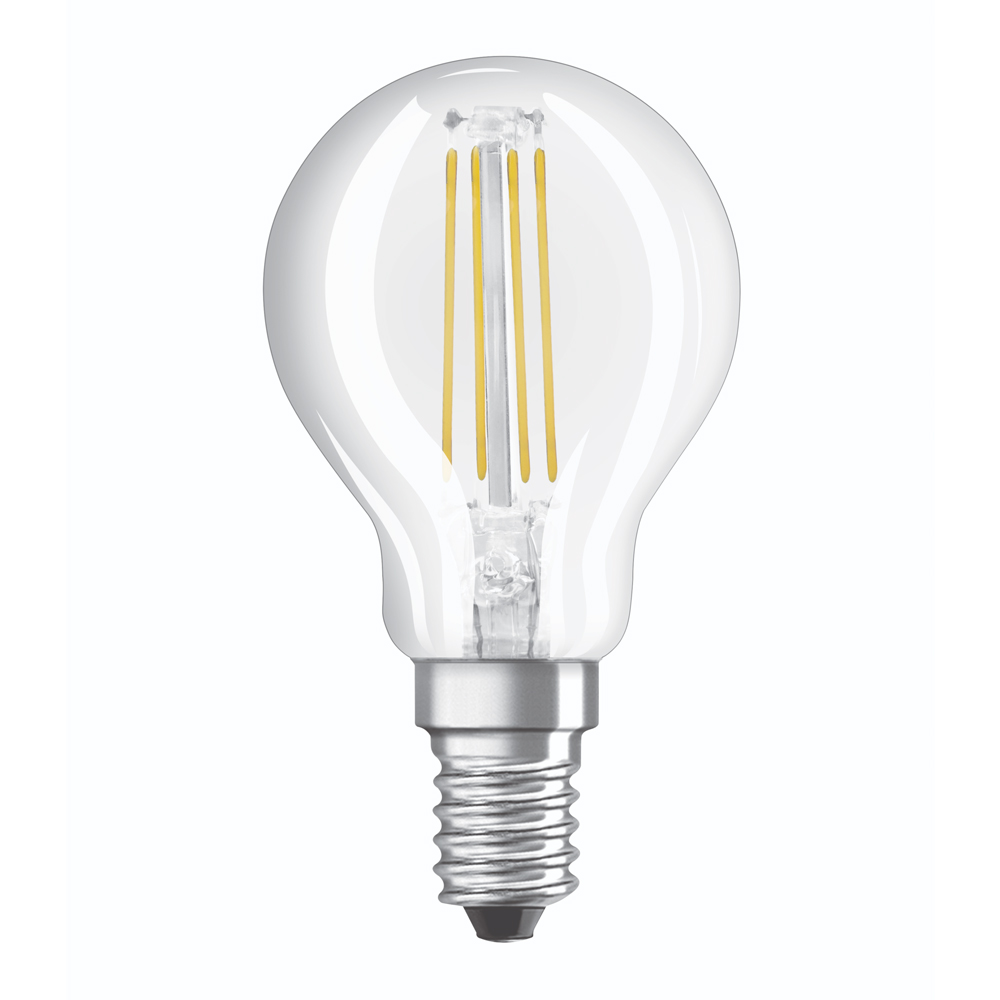 Osram Relax and Active Classic E14 P45 4W 827 470lm Filament | Zeer Warm Wit - Vervangt 40W