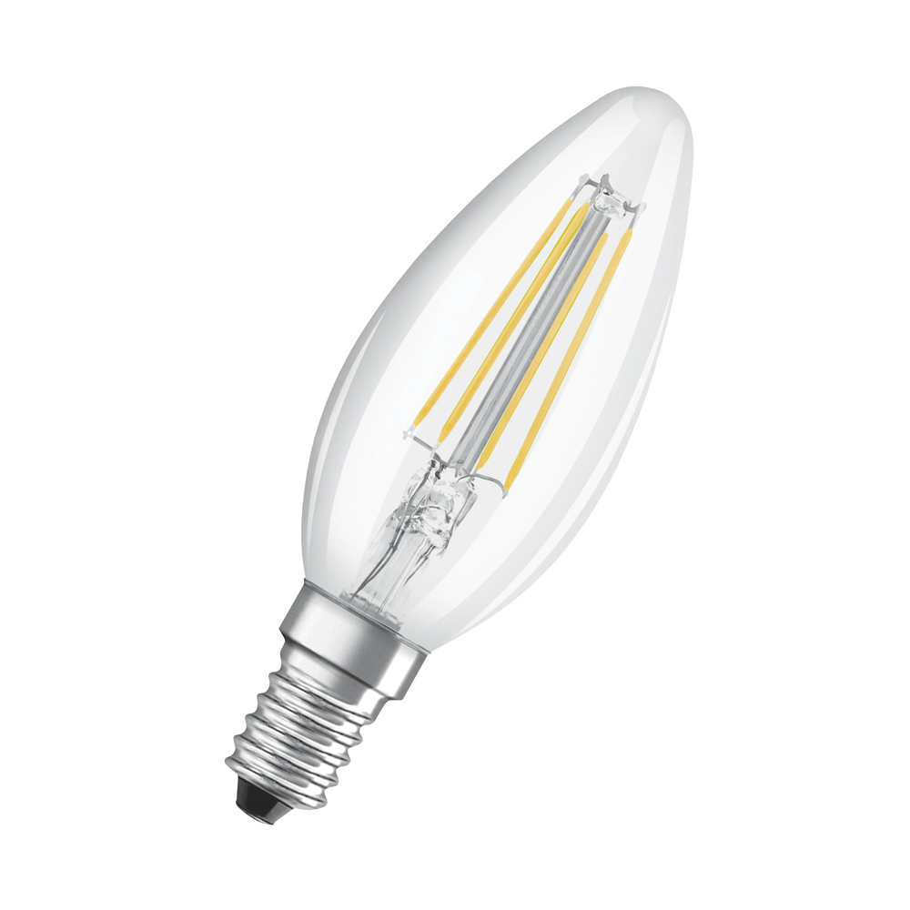 Osram Relax and Active Classic E14 B35 4W 827 470lm Filament | Zeer Warm Wit - Vervangt 40W