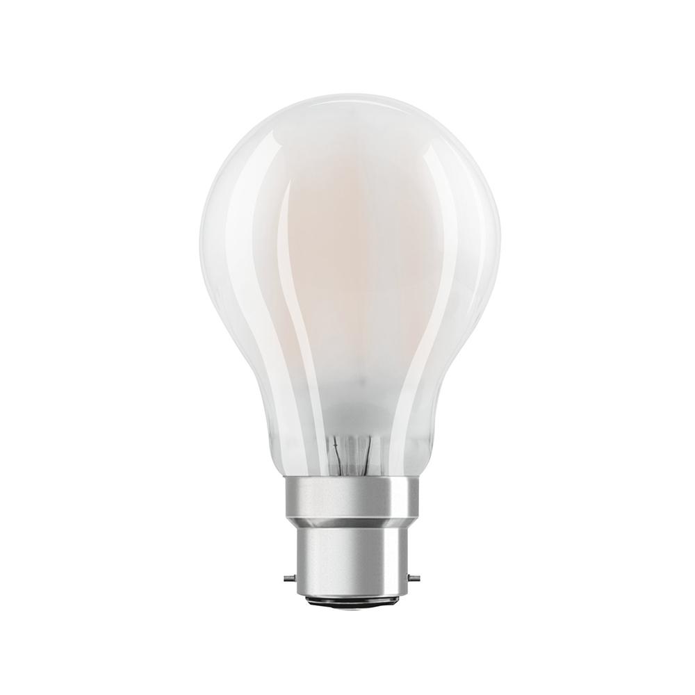 Osram Parathom Retrofit Classic B22d A60 4W 827 470lm Mat | Zeer Warm Wit - Vervangt 40W