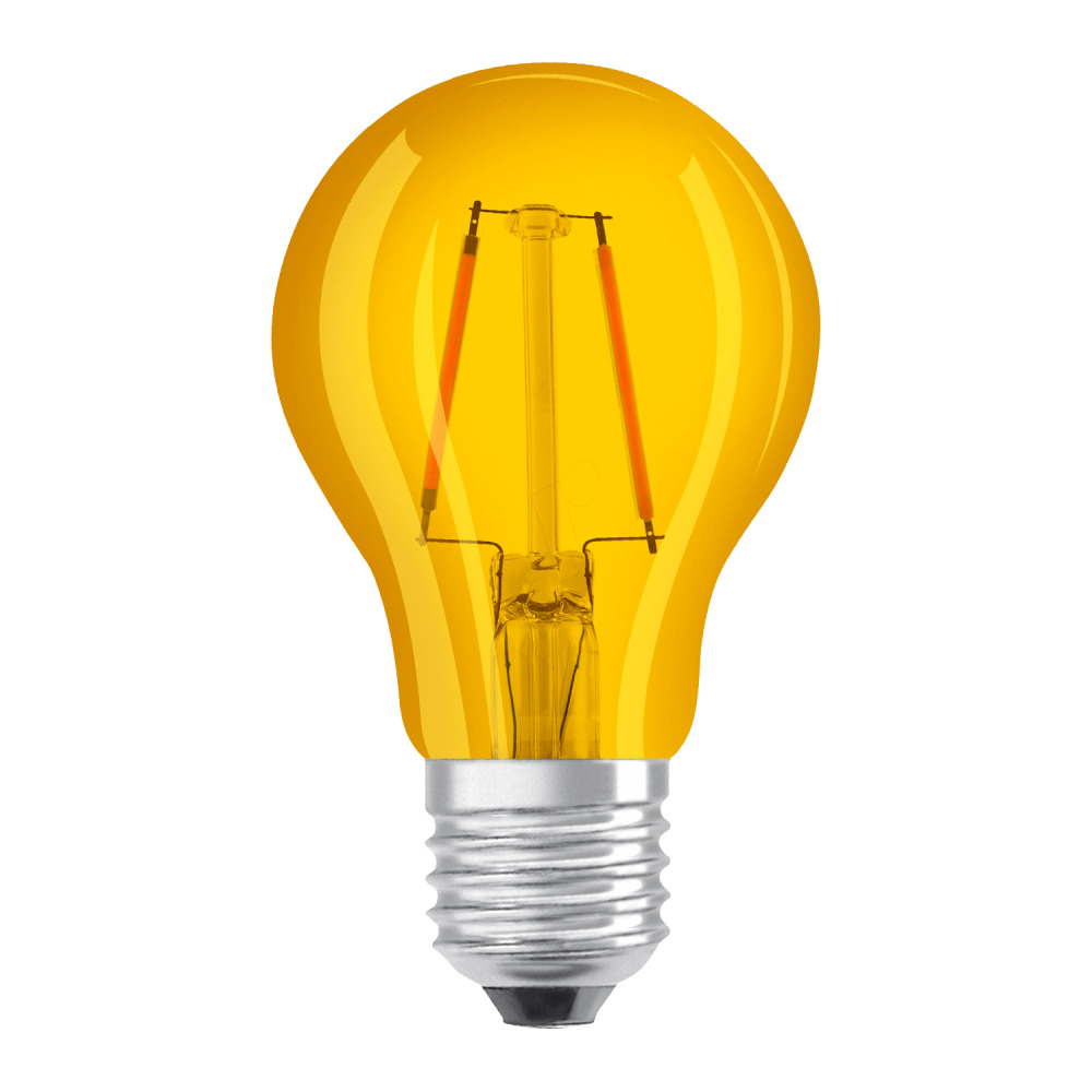 Osram LED STAR DECO Classic A Color E27 2.5W Geel Helder | Vervangt 15W
