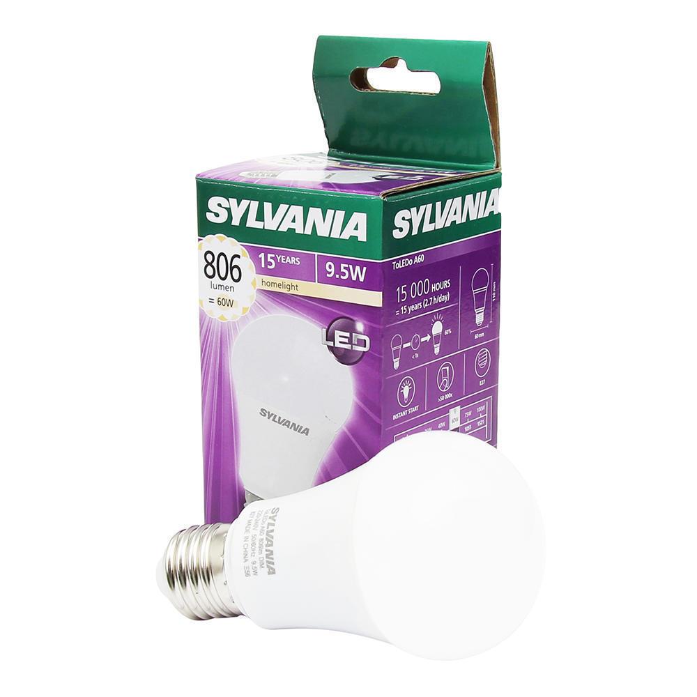 Sylvania ToLEDo GLS E27 9.5W 827 | Dimbaar - Vervangt 60W