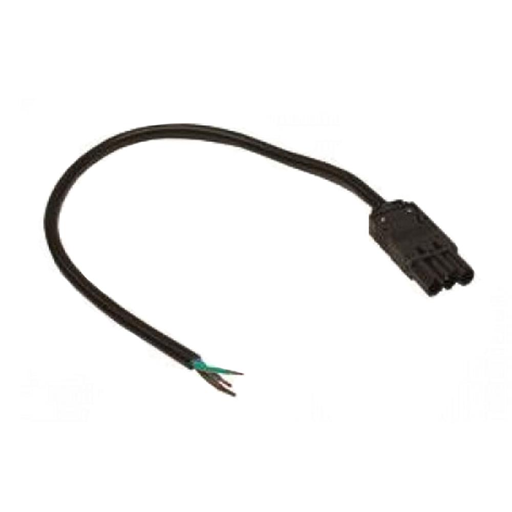 Lupa-con Kabel 3m Mannelijk Zwart GST18