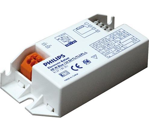 Philips HF-Matchbox Blue 124 SH TL/TL5/PL-L for 1x24W