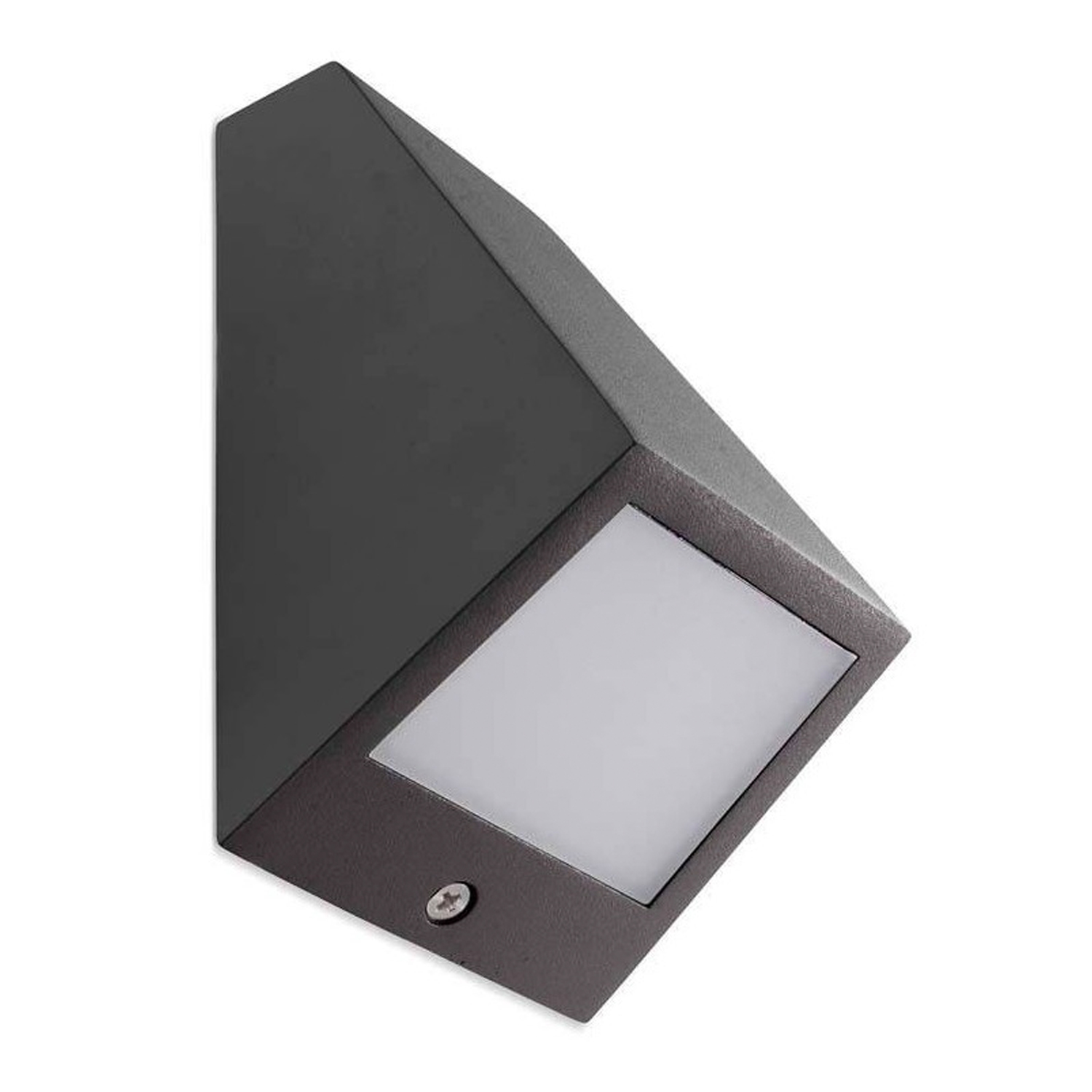 Leds-C4 LED Wall Light Outdoor 10W IP54 36D Urban Grijs