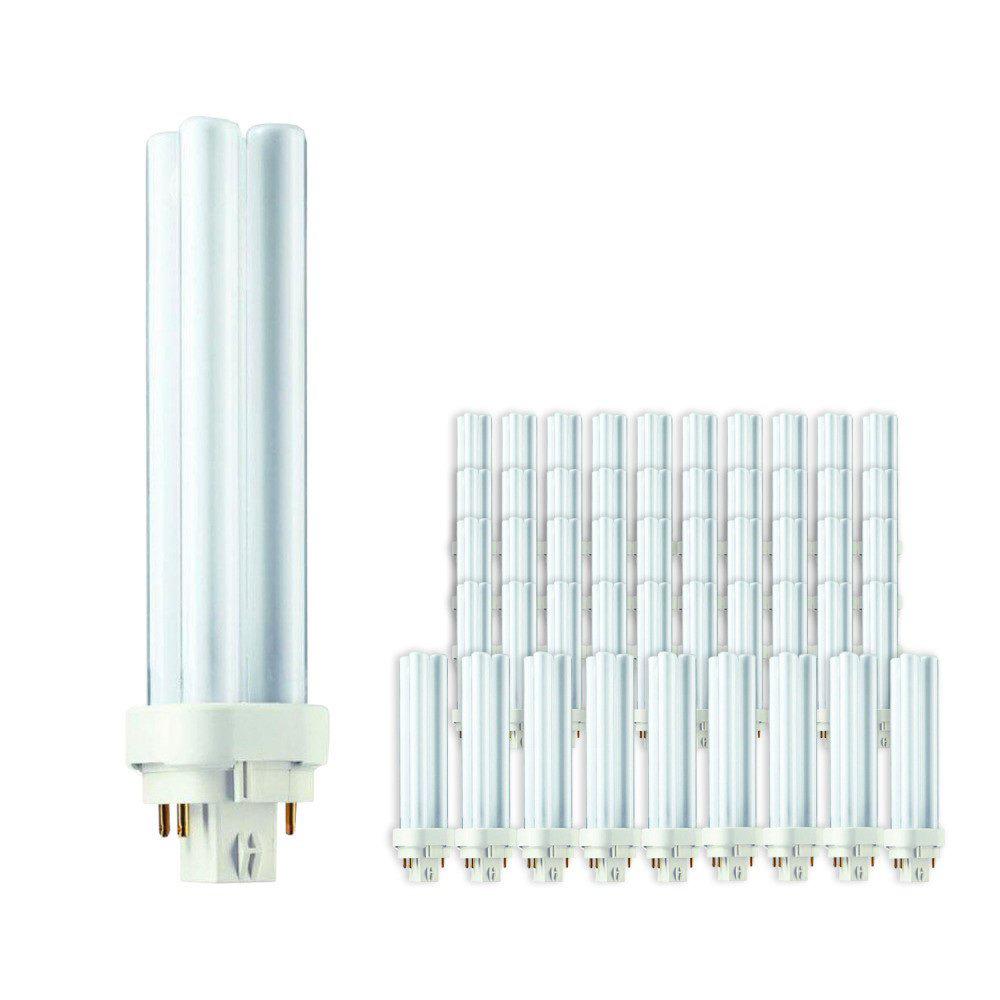 Voordeelpak 50x Philips PL-C 18W 830 4P (MASTER) | Warm Wit - 4-Pin