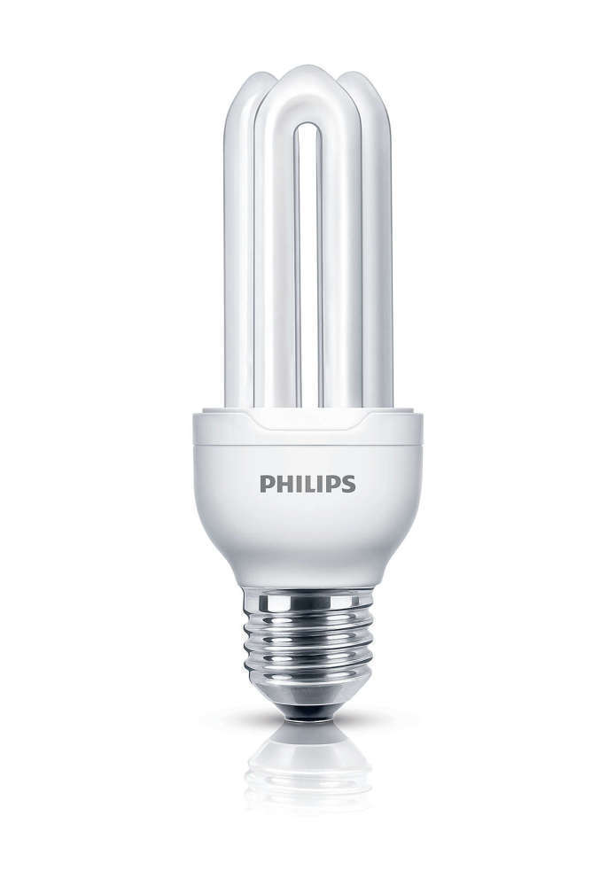 Philips Genie ESaver 11W 827 E27 | Zeer Warm Wit
