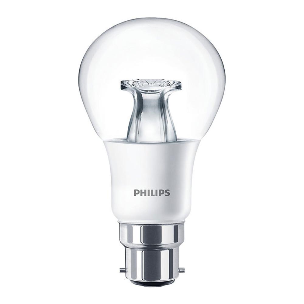 Philips LEDbulb B22 A60 8.5W 827 Helder (MASTER) | DimTone Dimbaar - Vervangt 60W