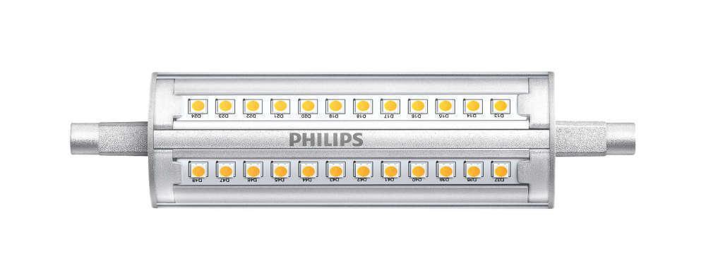 Philips CorePro R7s 14W 840 118mm | Dimbaar - Vervangt 100W