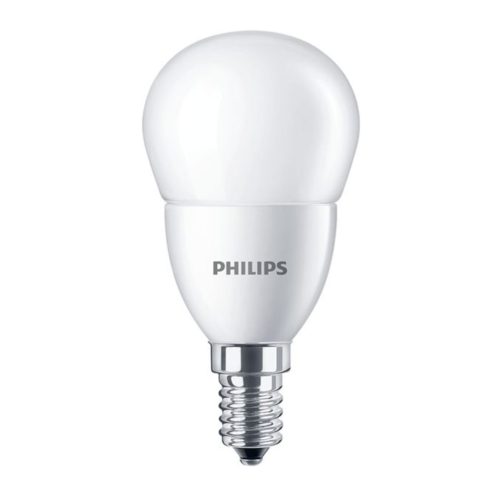 Philips CorePro LEDlustre E14 P48 7W 827 Mat | Vervangt 60W
