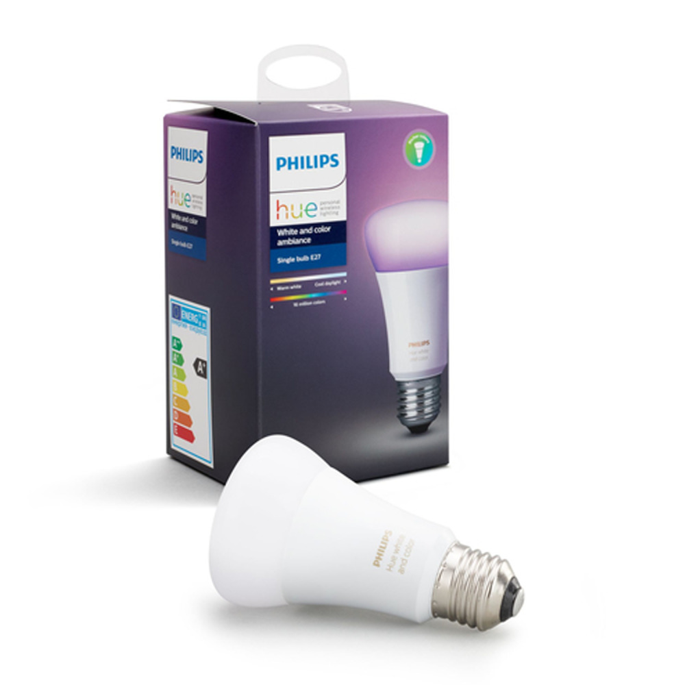 Philips Hue Smart Home LEDbulb E27 10W A60 230V Wit & Color Ambiance | Dimbaar