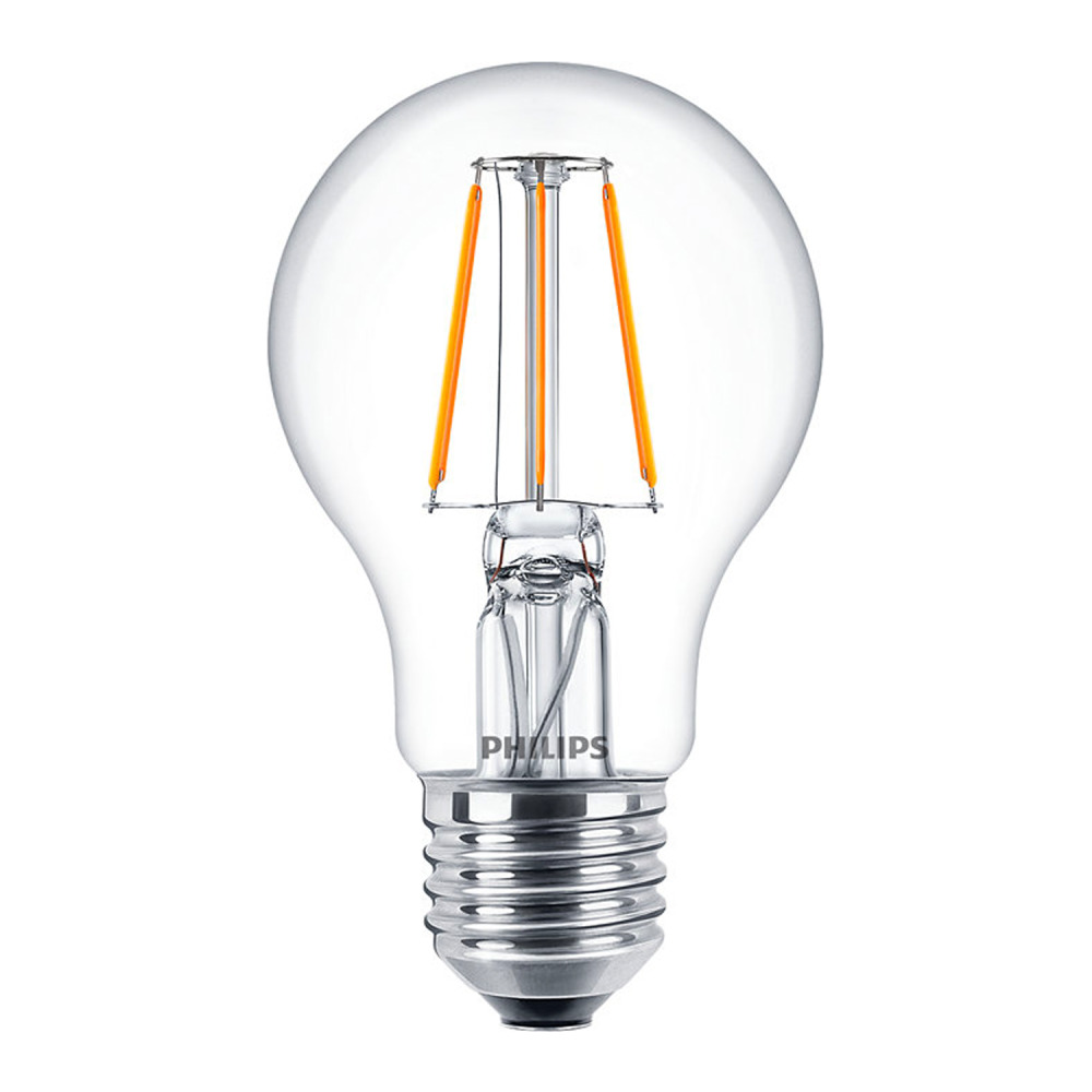 Philips Classic LEDbulb E27 A60 4.3W 827 Helder | Zeer Warm Wit - Vervangt 40W
