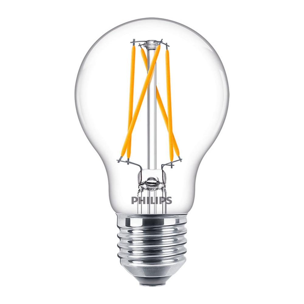 Philips Classic LEDbulb E27 A60 6.7W 827 Filament | DimTone - Vervangt 40W