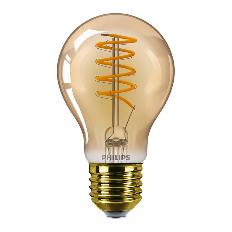 Philips Classic LEDbulb E27 A60 5.5W 820 Goud | Dimbaar - Zeer Warm Wit - Vervangt 25W