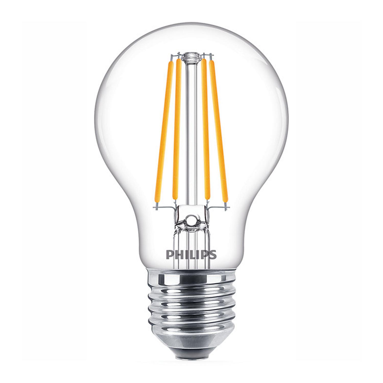 Philips Classic LEDbulb E27 A60 8.5W 840 Filament | Koel Wit - Vervangt 75W
