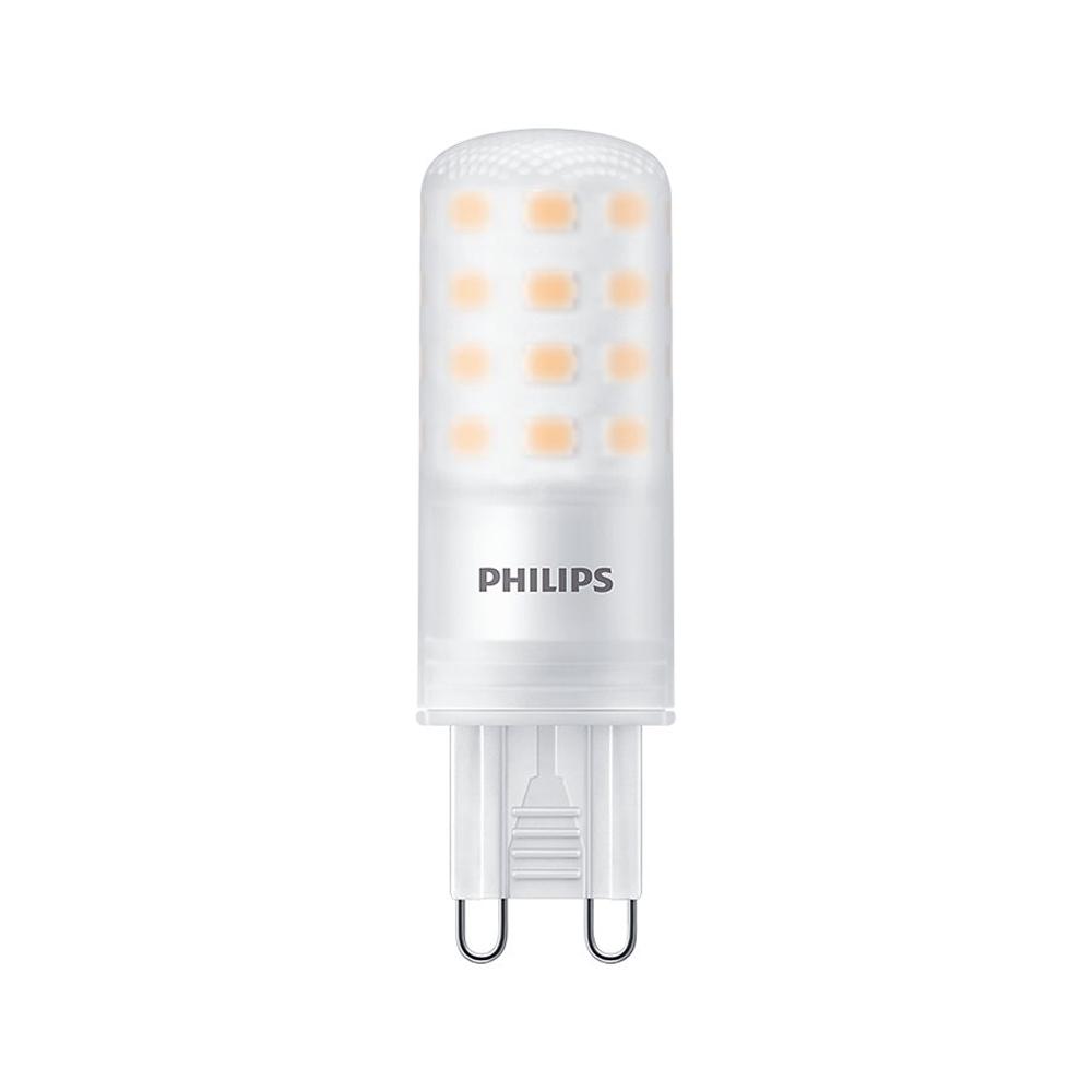 Philips CorePro LEDcapsule G9 4W 827 480lm | Dimbaar - Zeer Warm Wit - Vervangt 40W