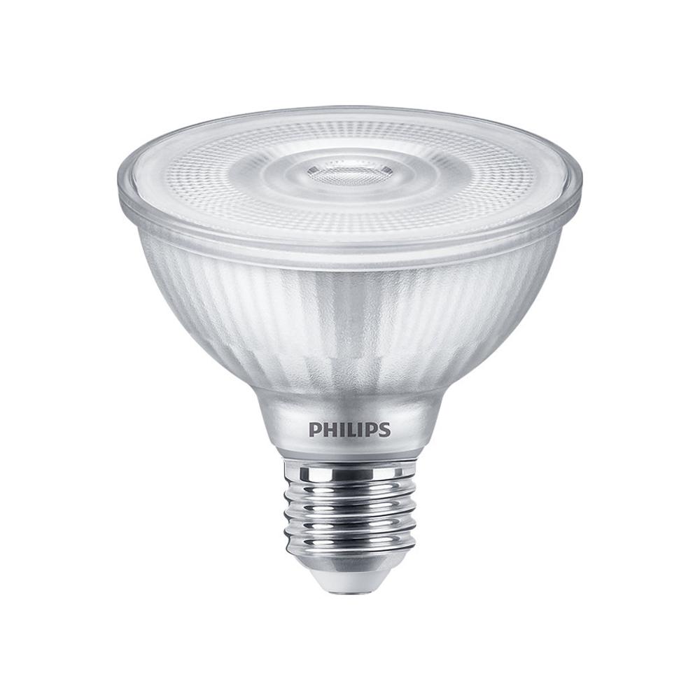 Philips LEDspot E27 PAR30S 9.5W 827 25D 740lm (MASTER) | Dimbaar - Zeer Warm Wit - Vervangt 75W