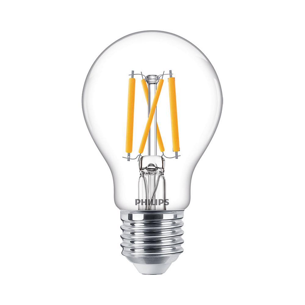 Philips Classic LEDbulb E27 A60 5W 927 470lm Filament | DimTone - Zeer Warm Wit - Vervangt 40W