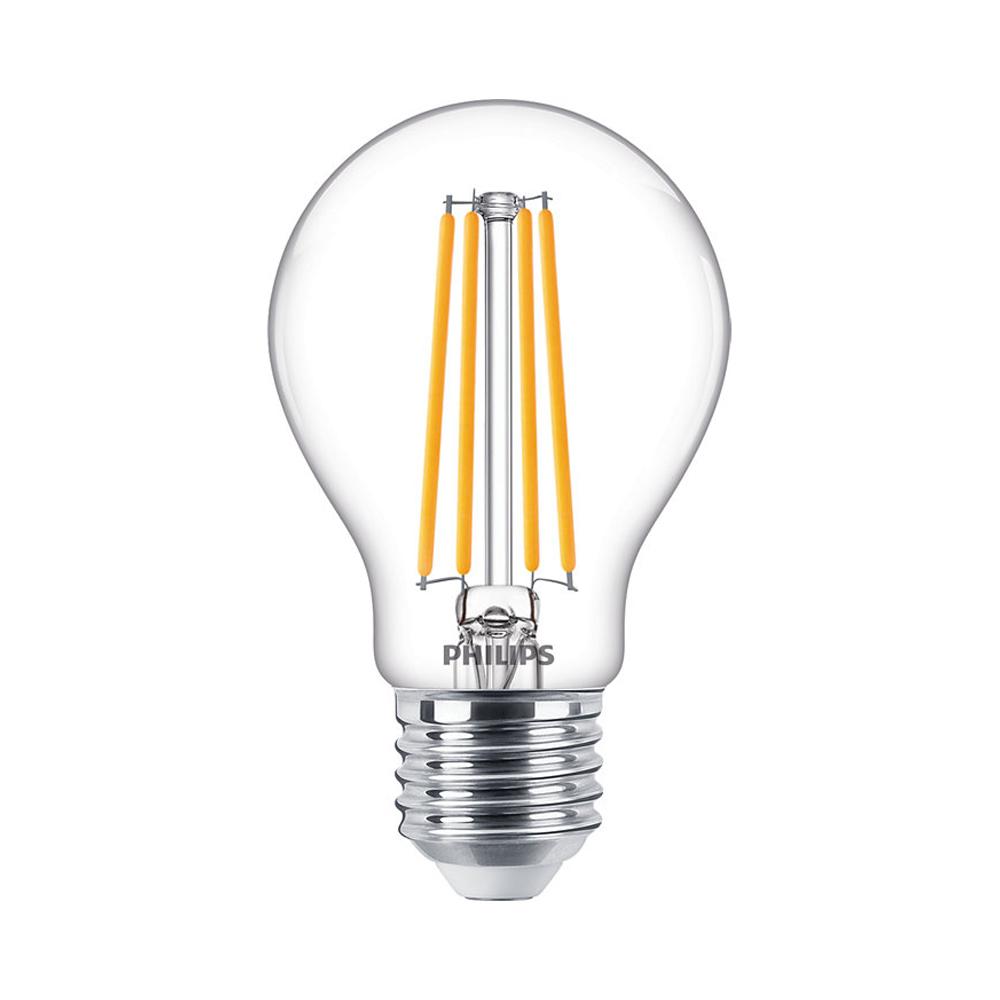 Philips Classic LEDbulb E27 A60 7.2W 827 806lm | Dimbaar - Zeer Warm Wit - Vervangt 60W