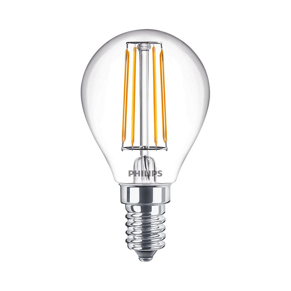 Philips Classic LEDlustre E14 P45 2.8W 827 250lm | Dimbaar - Zeer Warm Wit - Vervangt 25W