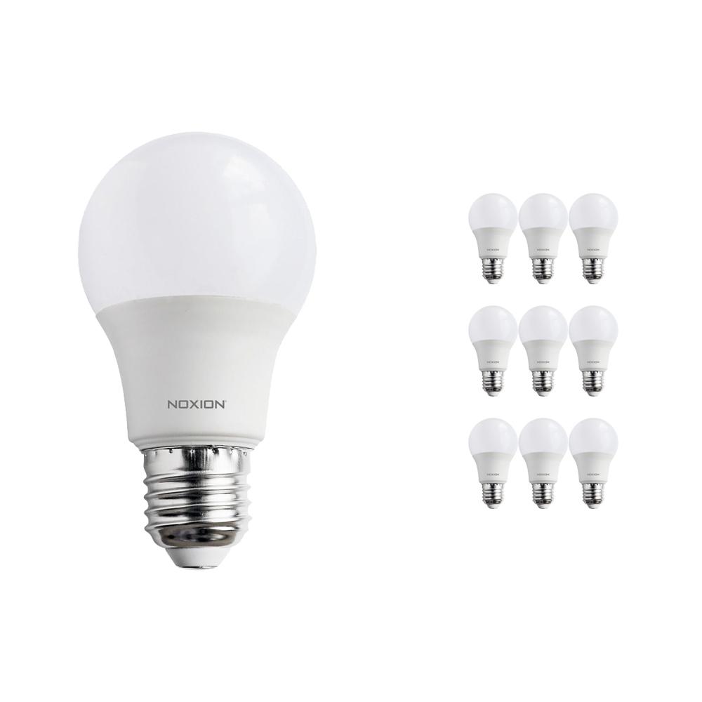 Voordeelpak 10x Noxion PRO LED Bulb A60 E27 9W 822-827 Mat | Dimbaar - Zeer Warm Wit - Vervangt 60W