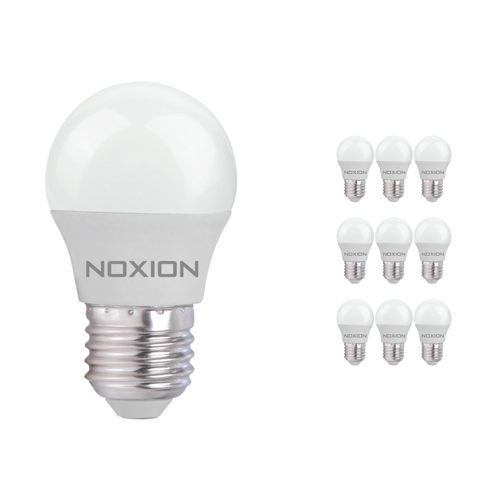 Voordeelpak 10x Noxion Lucent LED Classic Lustre E27 3W 827 | Zeer Warm Wit - Vervangt 25W