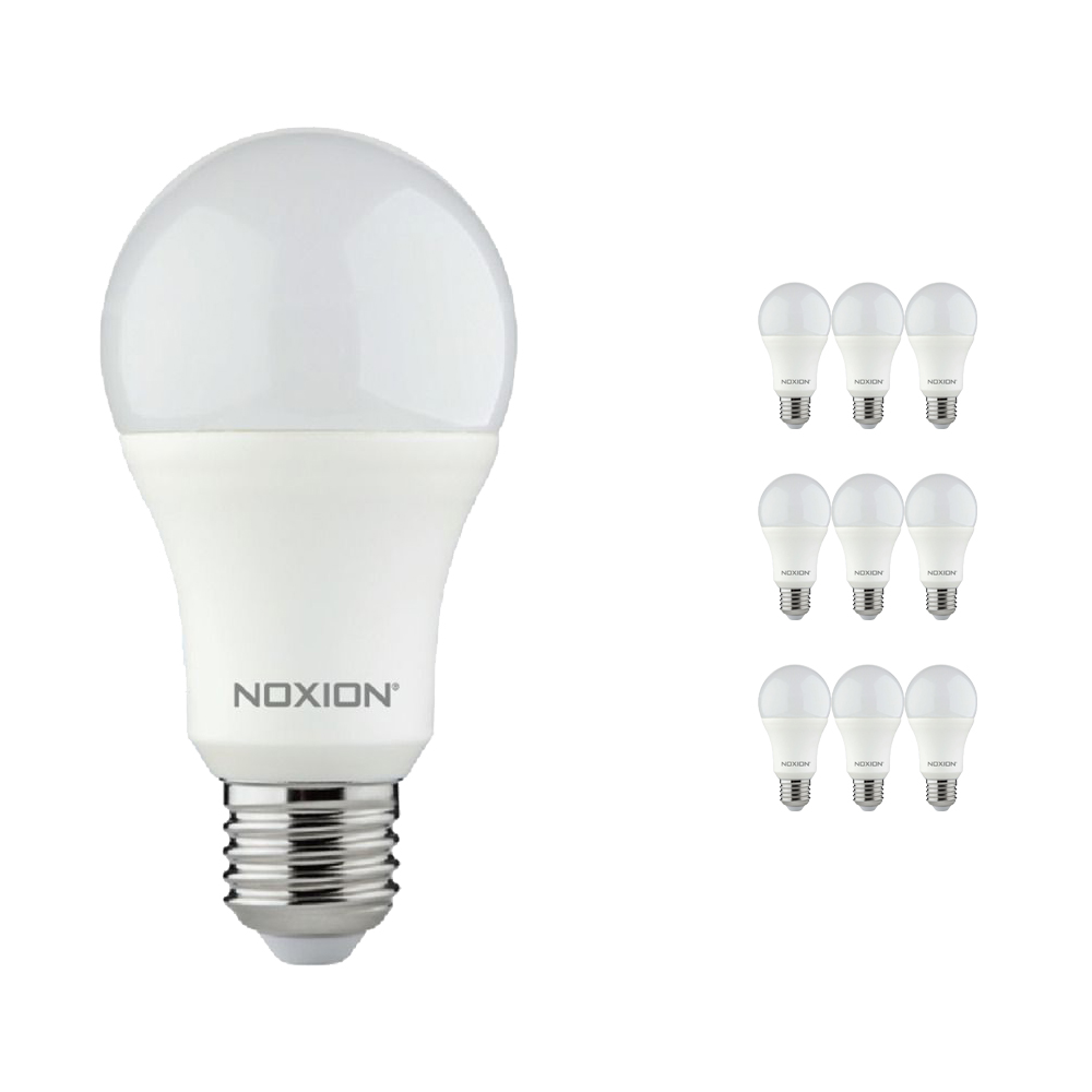 Voordeelpak 10x Noxion Lucent LED Classic 11W 840 A60 E27 | Koel Wit - Vervangt 75W