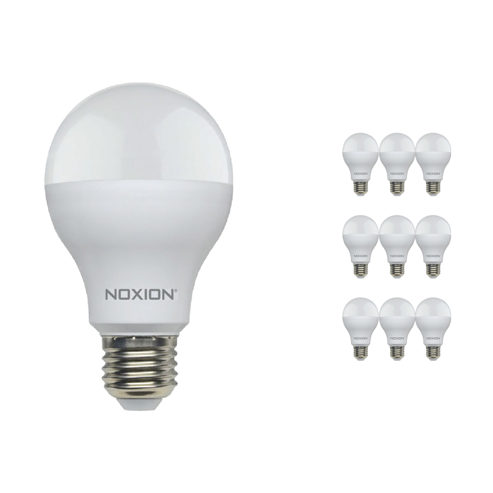 Voordeelpak 10x Noxion Lucent LED Classic 14W 840 A60 E27 | Koel Wit - Vervangt 100W