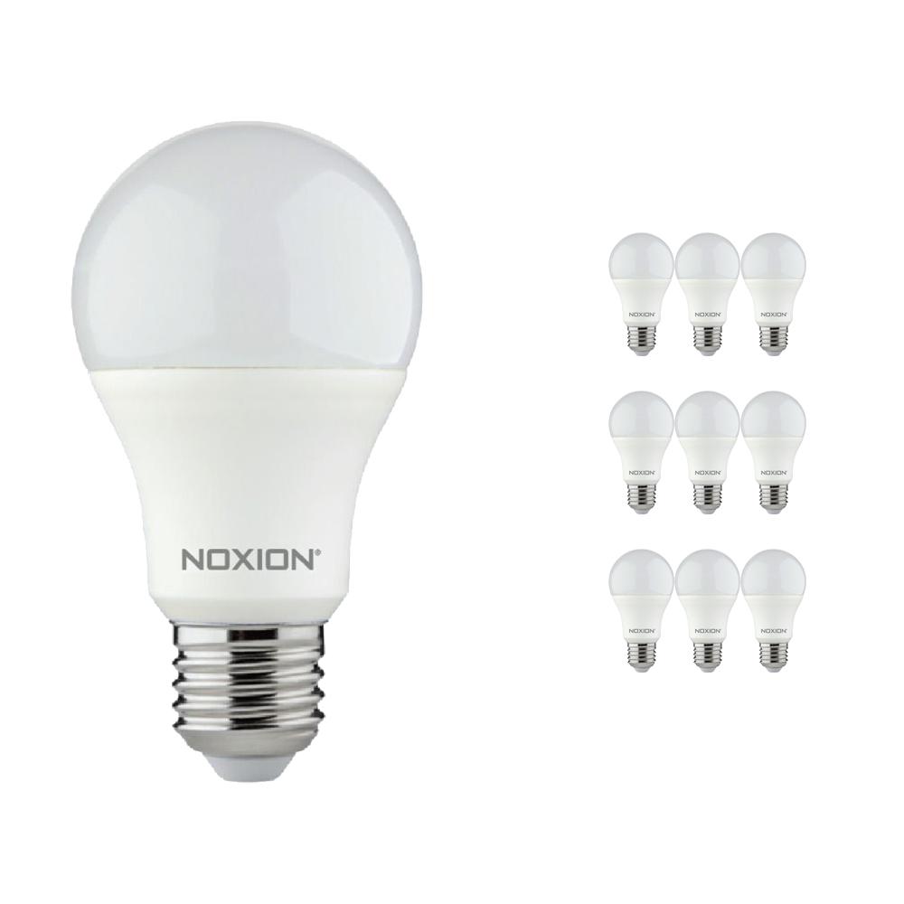 Voordeelpak 10x Noxion Lucent LED Classic 8.5W 827 A60 E27 | Dimbaar - Zeer Warm Wit - Vervangt 60W