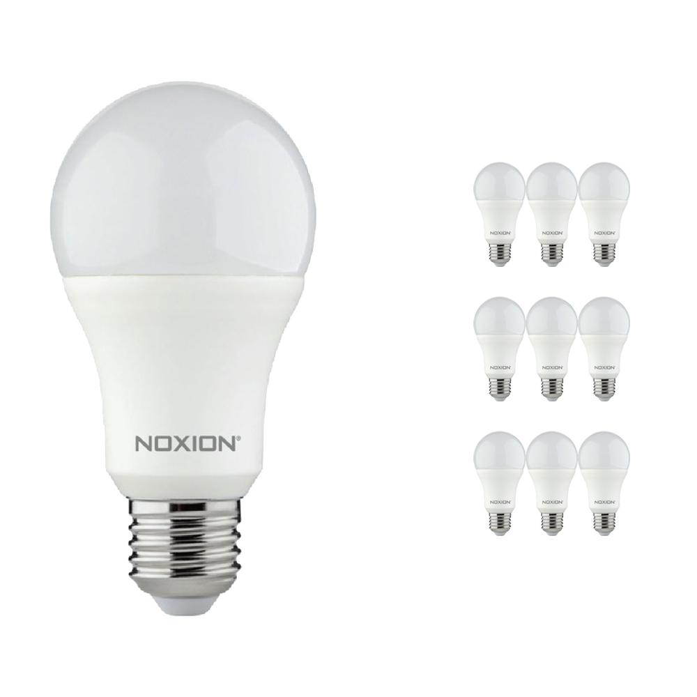 Voordeelpak 10x Noxion Lucent LED Classic 11W 827 A60 E27 | Dimbaar - Zeer Warm Wit - Vervangt 75W